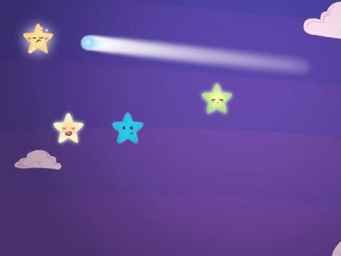 天上星亮晶晶