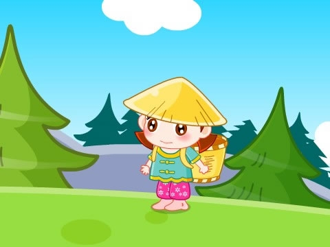牡丹姑娘简谱歌谱-采蘑菇的小姑娘 亲宝儿